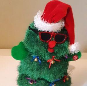 Dancing and Musical Plush Christmas Tree